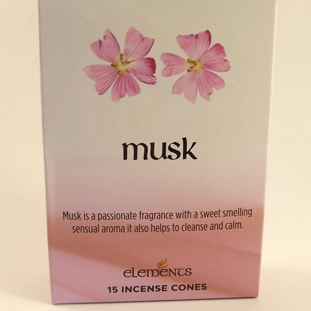 Musk Incense Cones Wicca Wax And Wands