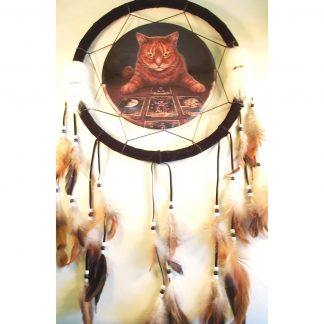 Large Lisa Parker Tarot Cat cute Dream catcher