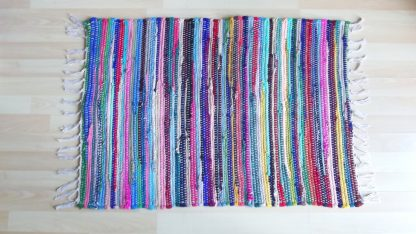 Indian rag rug